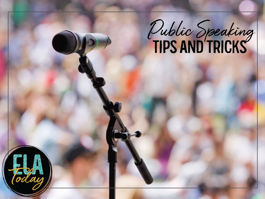 Teaching public speaking with older students presents several challenges. Provide a variety of learning opportunities while easing their anxieties. #PublicSpeakingLessons #highschoolela