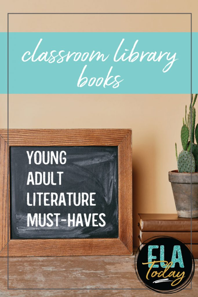 Classroom libraries in high school? Yes! These young adult literature additions will get teens reading. #YoungAdultLiterature #ClassroomLibrary
