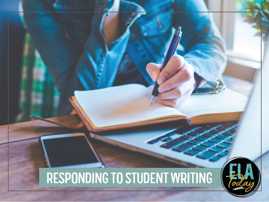 As a teacher, how you respond to student writing matters, as it shapes their internal dialogue. Follow these guidelines for giving students feedback. #HighSchoolELA #WritingLessons