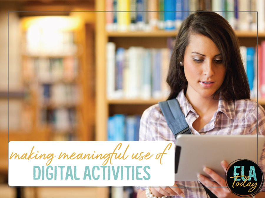 Digital activities are in our classrooms, and like with anything else, our activities must be meaningful. #DigitalClassroom