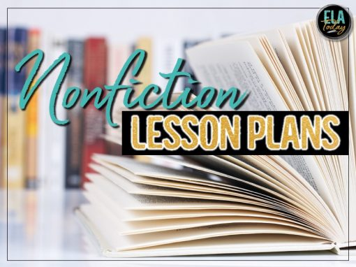 Teaching nonfiction? Here are some lesson plans to keep students engaged and thinking critically. #HighSchoolELA #TeachingNonfiction