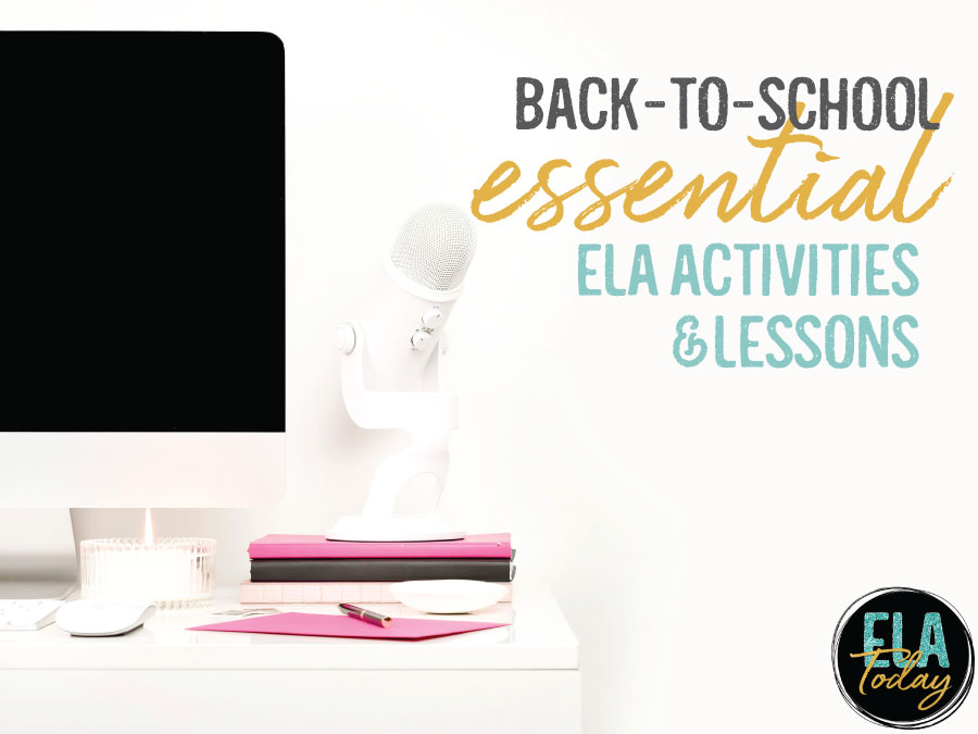 Looking for secondary ELA resources for back-to-school? Start the year by building relationships and creating a strong classroom community with these ideas.