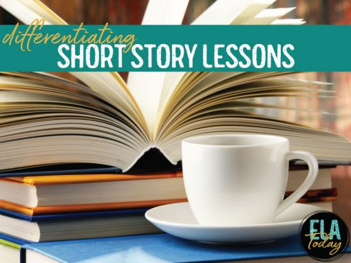 Teaching short stories? Meet standards, provide student choice, and encourage differentiation with these teaching ideas. #ShortStories