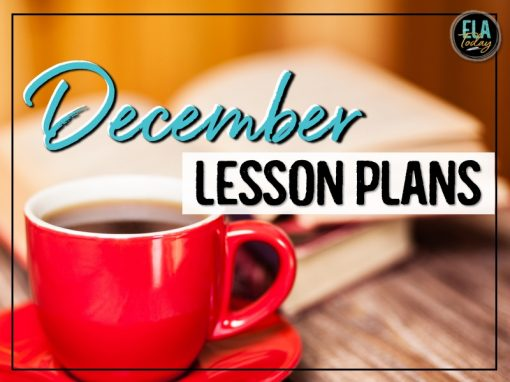 10 holiday lesson plans for the month of December #MiddleSchoolELA #HighSchoolELA #HolidayLessons