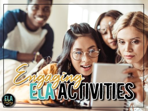 Engaging ELA lessons and activities to keep students learning all year long! #MiddleSchoolELA #HighSchoolELA
