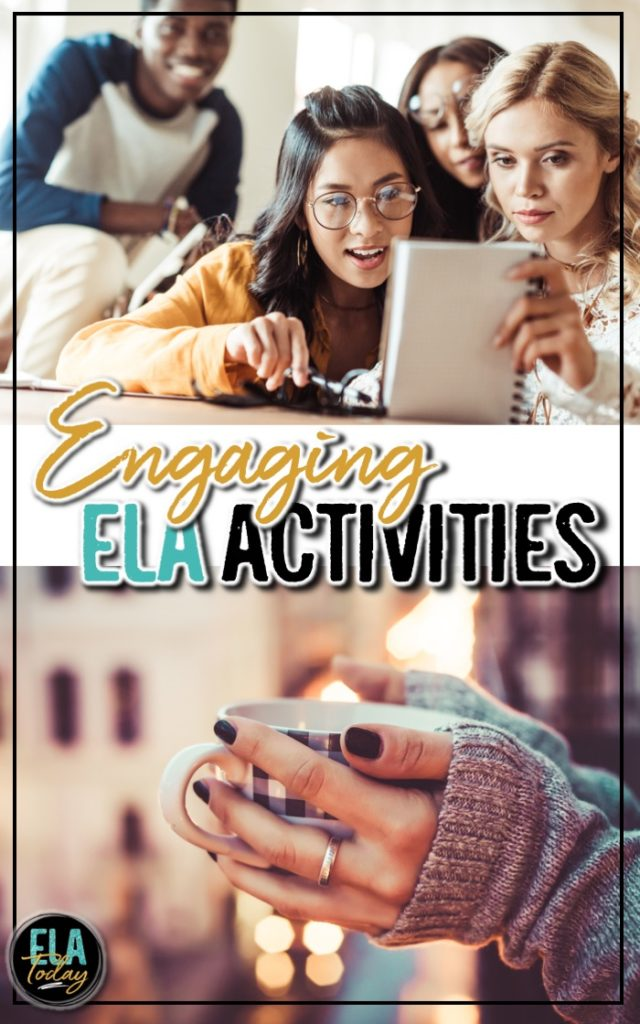 20 engaging ELA activities and lesson plans for middle and high school #MiddleSchoolELA #HighSchoolELA