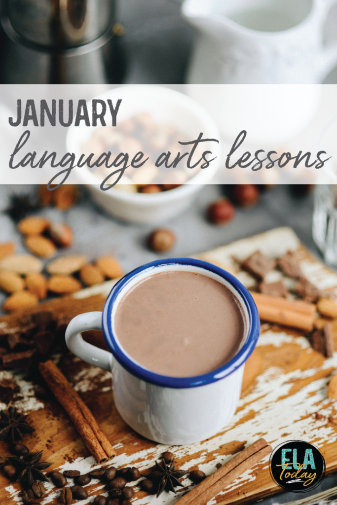 ELA lessons for January! What should you teach after winter break with your middle and high school students? #ELAlessonplans