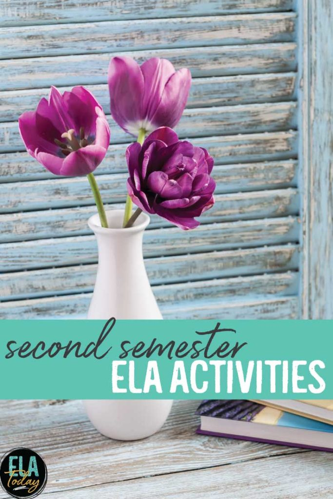 What second semester ELA lessons will you bring to your classroom? These lessons will engage students as the weather starts to warm. #MiddleSchoolELA #HighSchoolELA