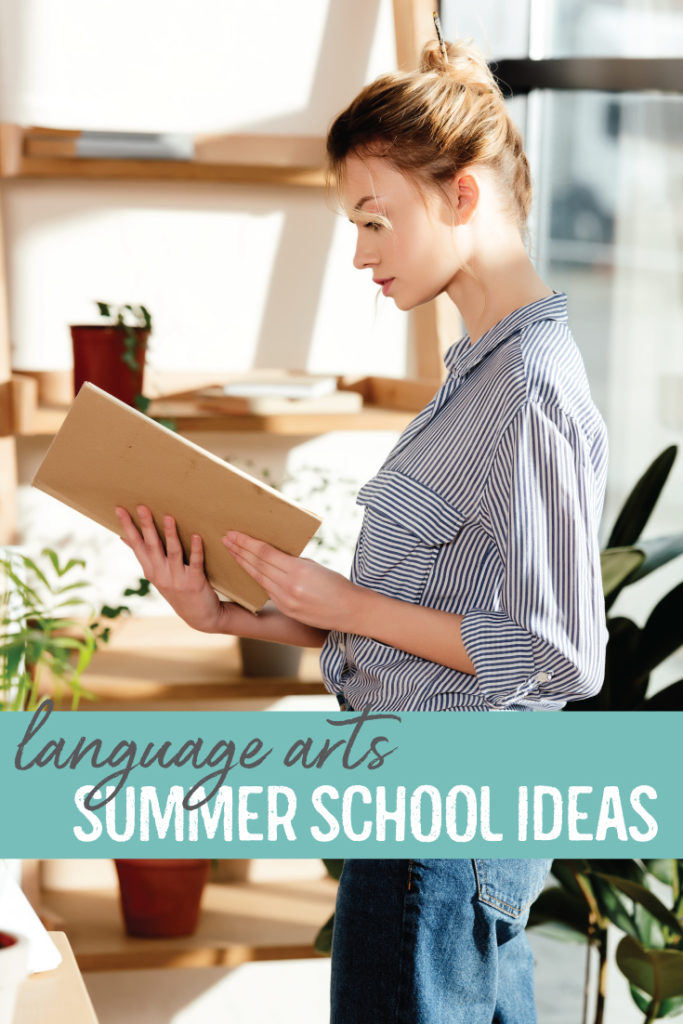 Teaching English summer school can be a rewarding experience with engaging and well-researched lessons. Help students in recovery credit with these summer school ideas. #HighSchoolEnglish #LanguageArtsLessons