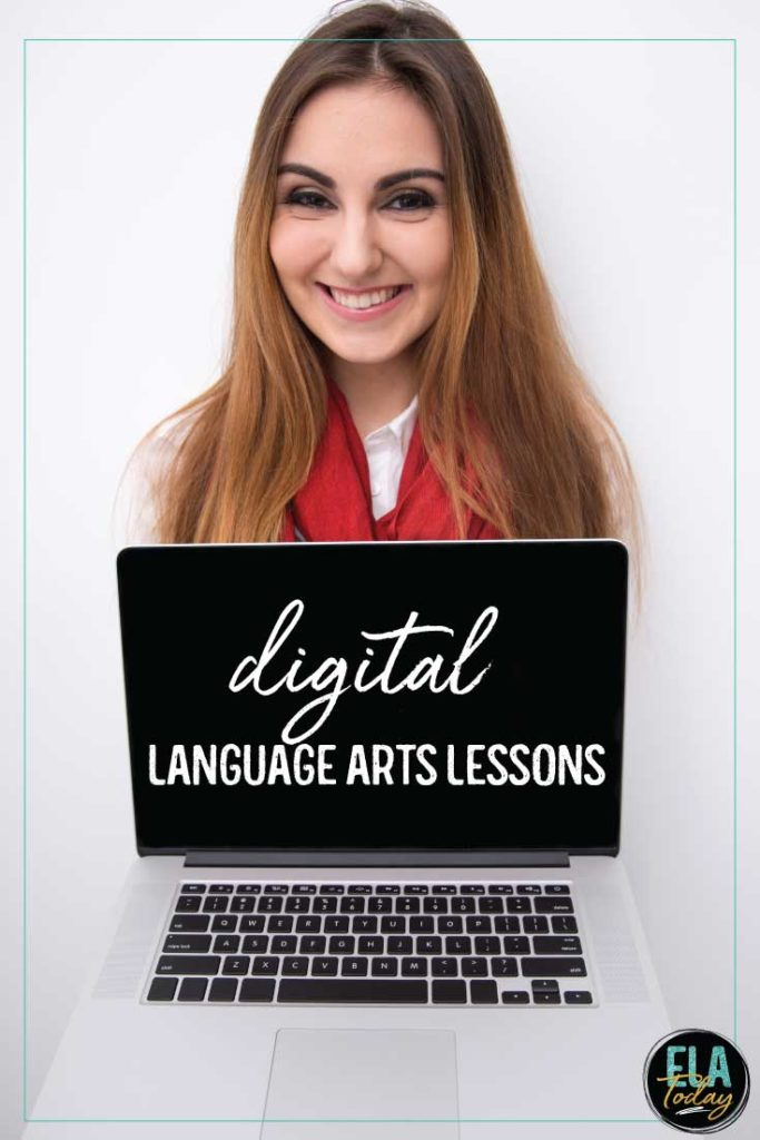 Whether your students are in a 1:1 classroom or learning remotely, this post is full of digital language arts activities to engage students online.
