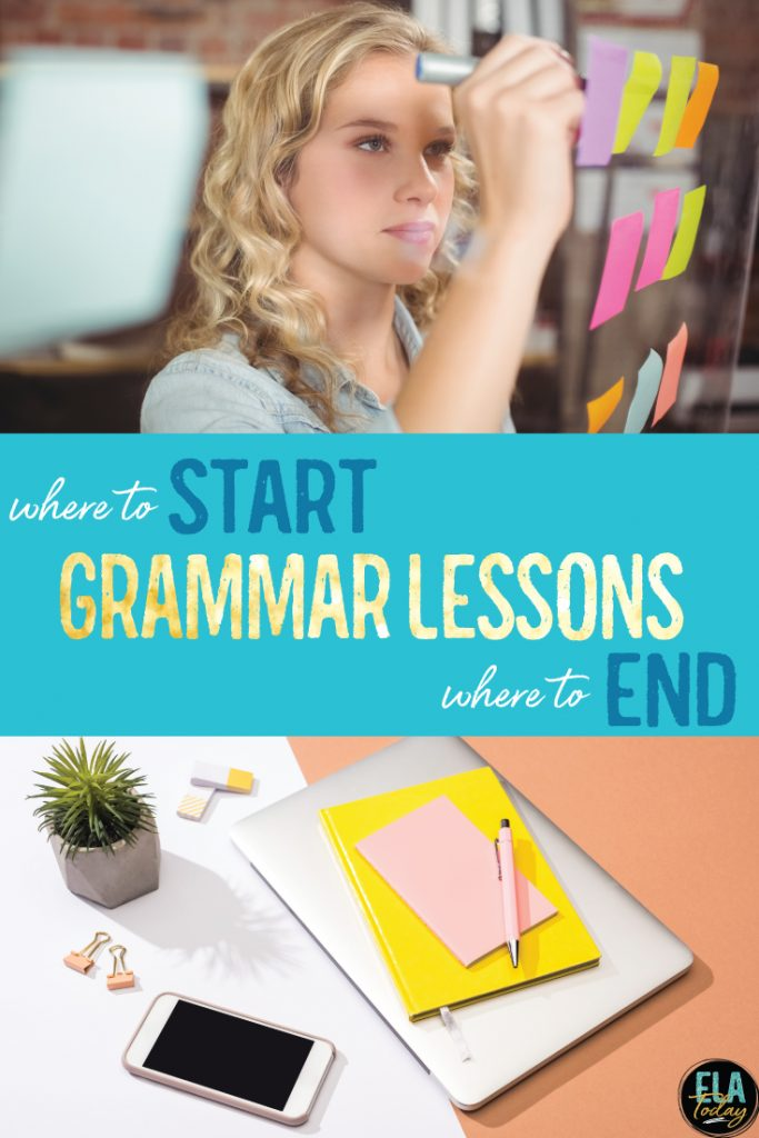 Grammar lessons: organizing your grammar activities and teaching grammar in context.