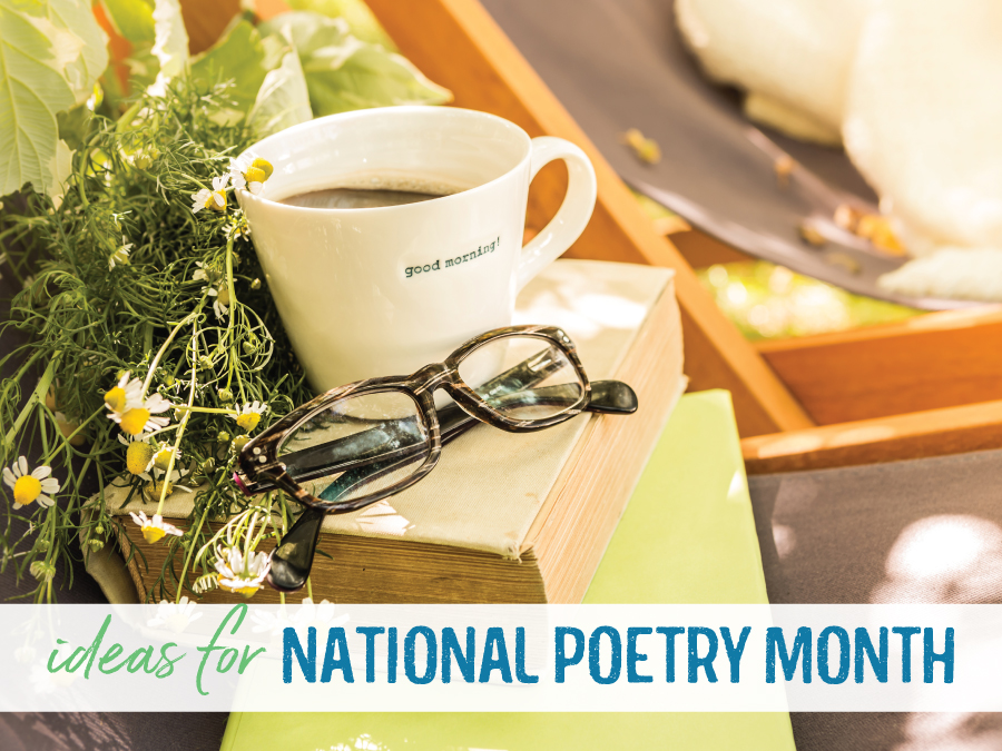 Celebrate National Poetry Month with a few engaging activities.
