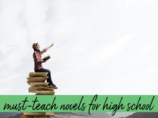What must teach novels do you teach?