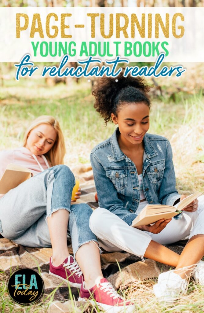 High-interest books for middle and high school students. Page turners they won't want to put down! #ClassroomLibrary